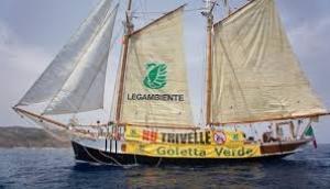 Goletta Verde monitora il mare di Puglia. In provincia di Taranto fortemente inquinata la foce dell'Ostone a Marina di Lizzano